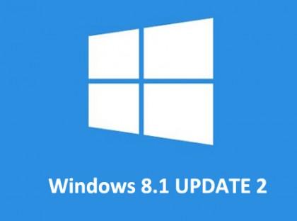 Actualización Windows 8.1 Update 2 para Agosto